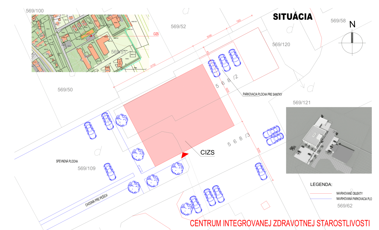 CIZS - Poliklinika Sabinov, n.o. situácia